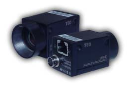 Gigabit industrial colour CMOS cameras